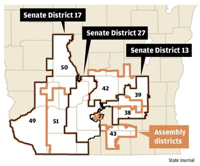 Legislative seats in play