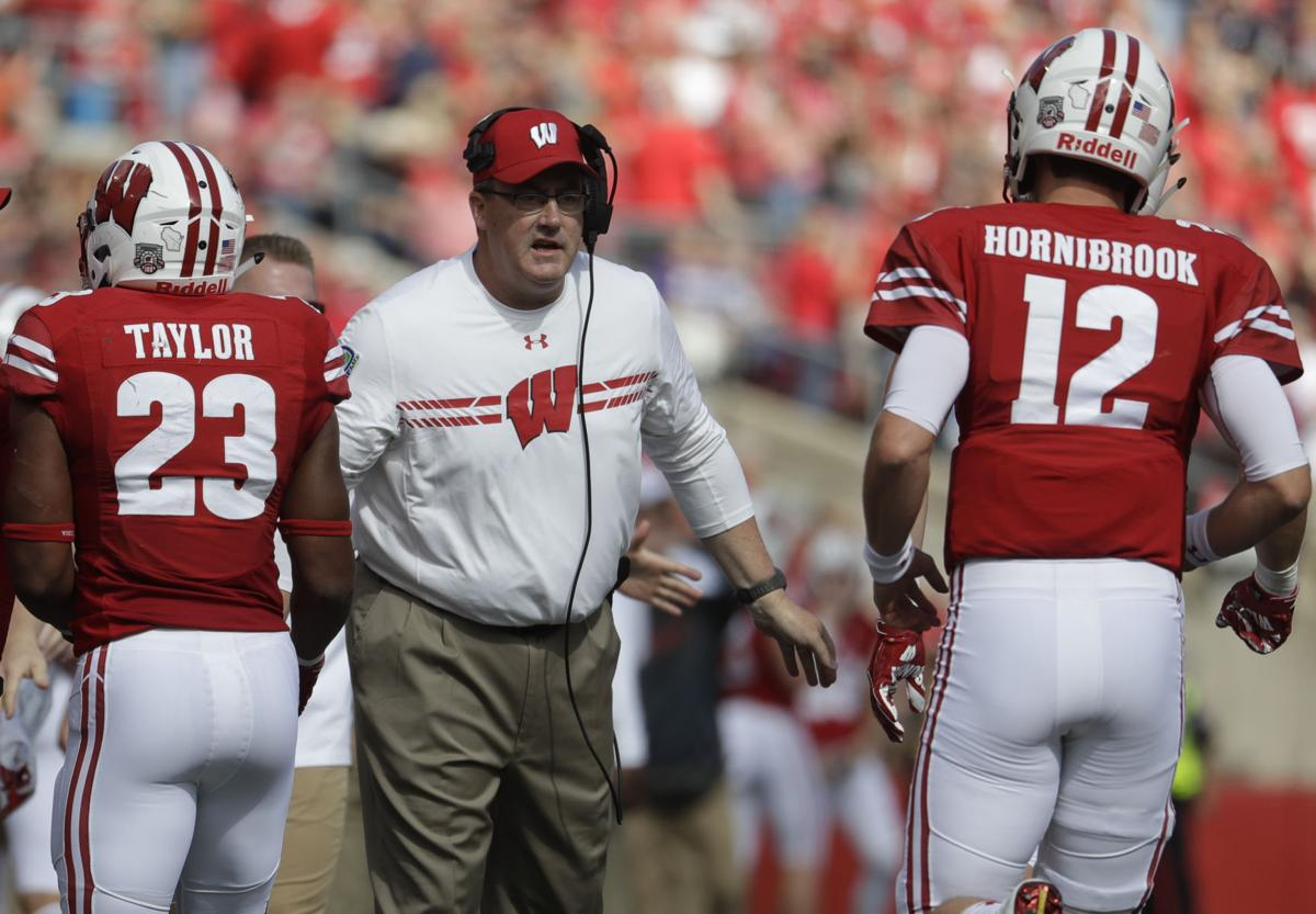 Chryst-AP Big Ten coach of year