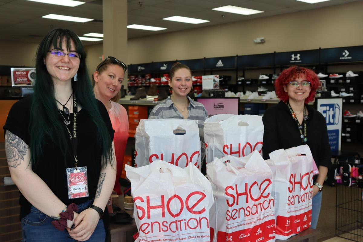 Shoe Sensation Wisconsin Foster Closet Donation