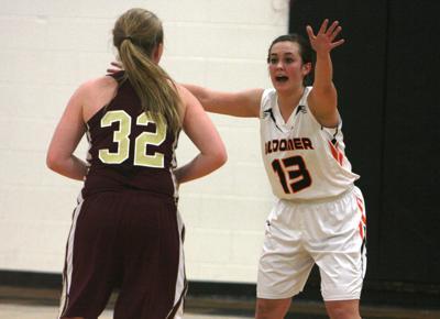 Barron at Bloomer girls basketball, 1-29-15