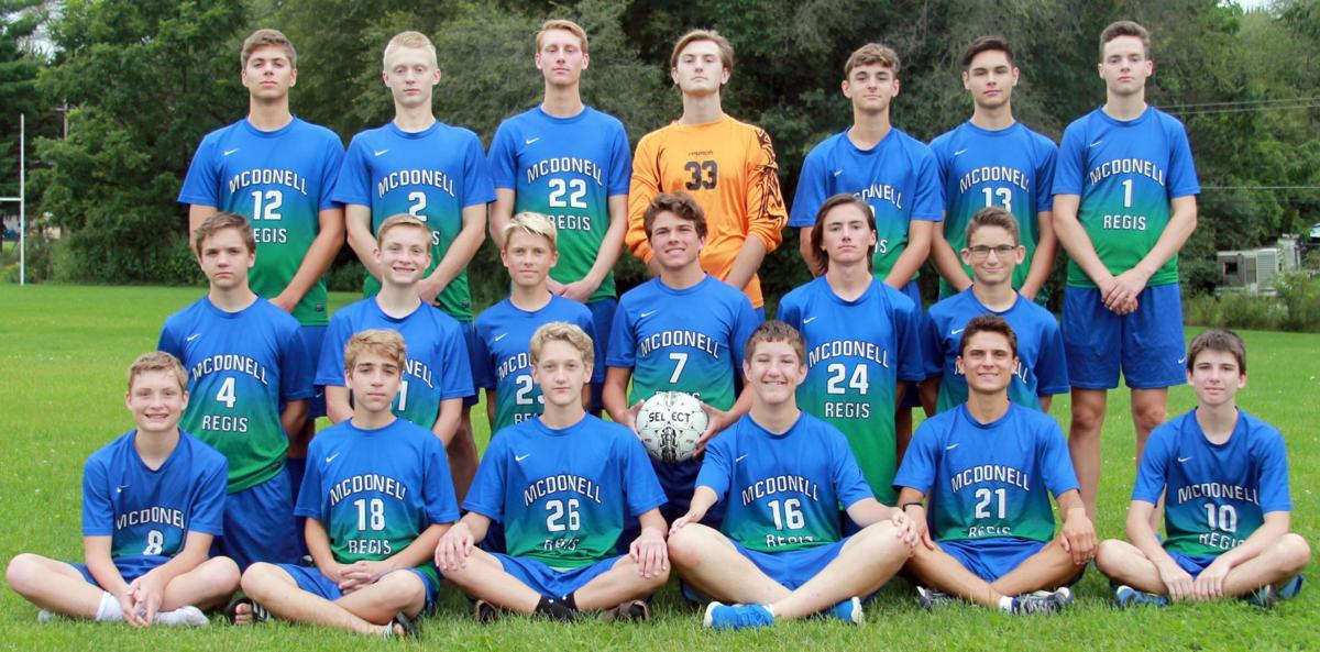 2017 McDonell/Regis Boys Soccer Team