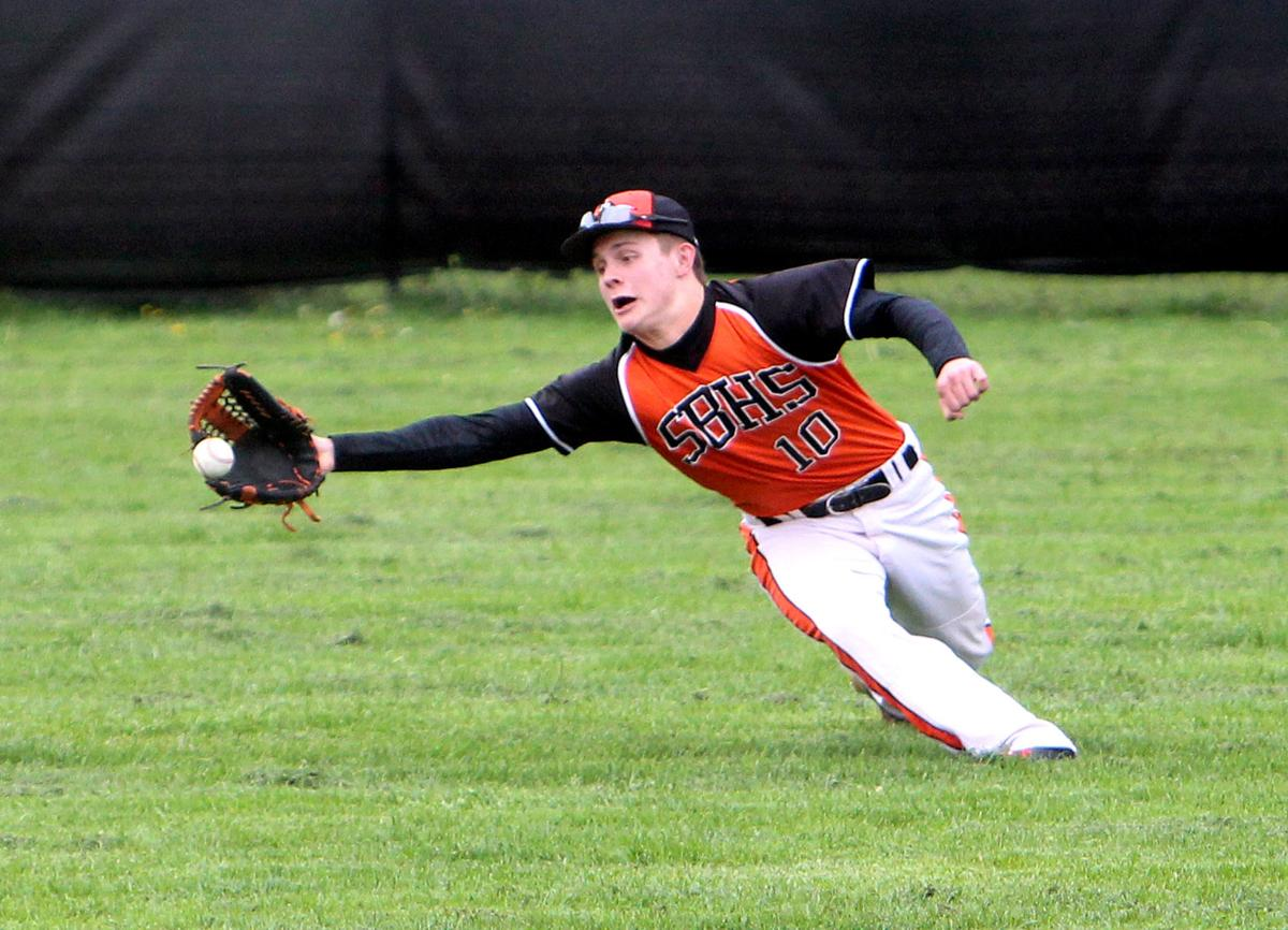 Osseo-Fairchild at Stanley-Boyd baseball 5-19-17
