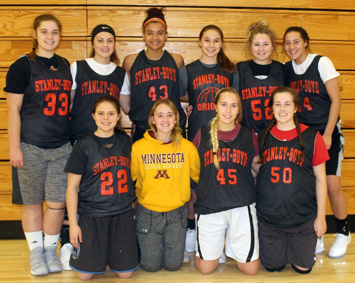 2017-18 Stanley-Boyd Girls Basketball Team