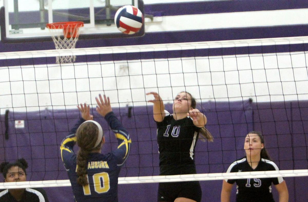 New Auburn at Lake Holcombe volleyball 10-10-17