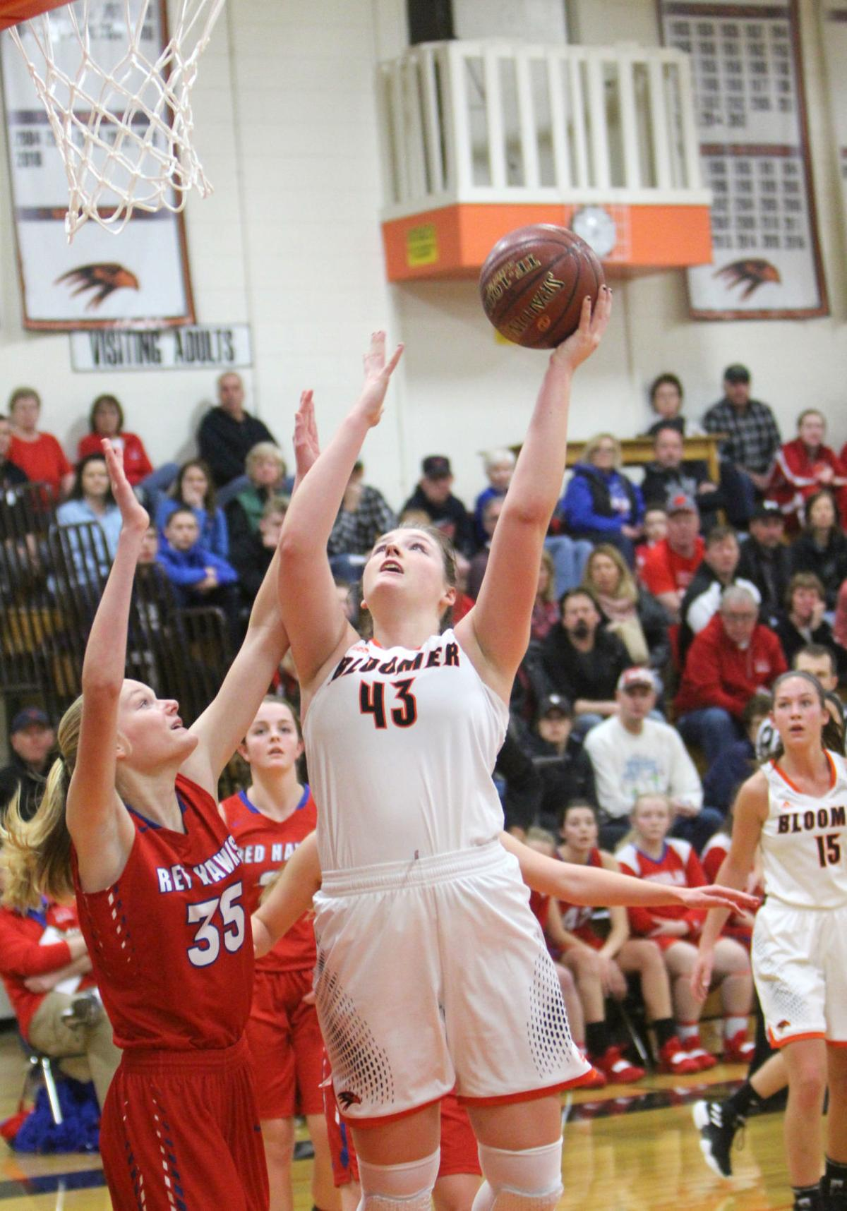 Gale-Ettrick-Trempealeau at Bloomer girls basketball 12-29-18
