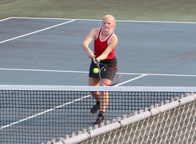 Menomonie at Chippewa Falls girls tennis 9-15-20