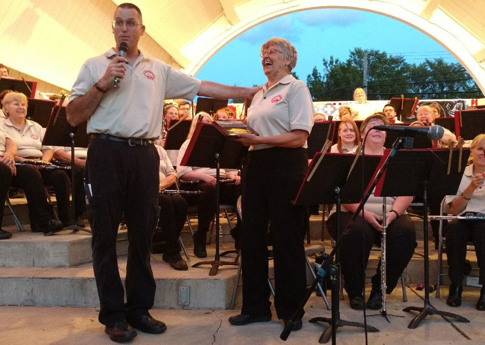 Lanna Laird Ludington Guard Band
