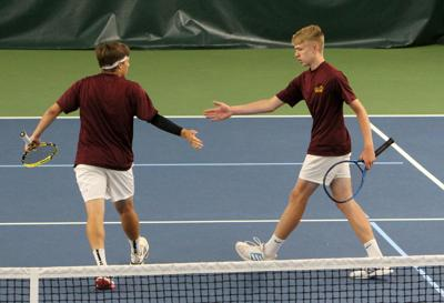 Division 1 Boys Tennis Sectionals in Eau Claire 6-10-21