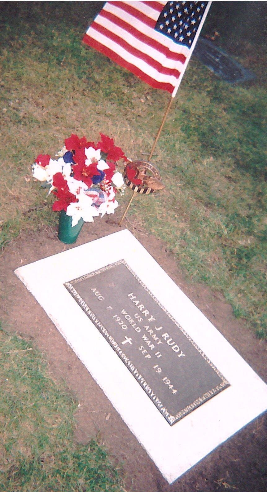 Harry J. Rudy memorial
