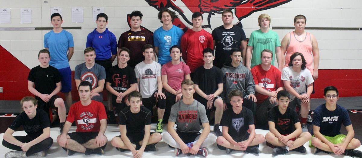 Chi-Hi wrestling 2018-19 team photo