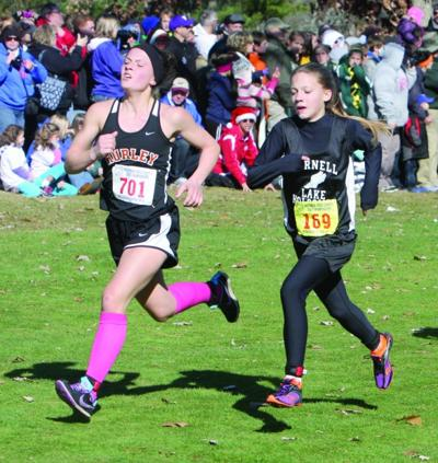 WIAA State Cross Country Meet at Wisconsin Rapids 10-27-12