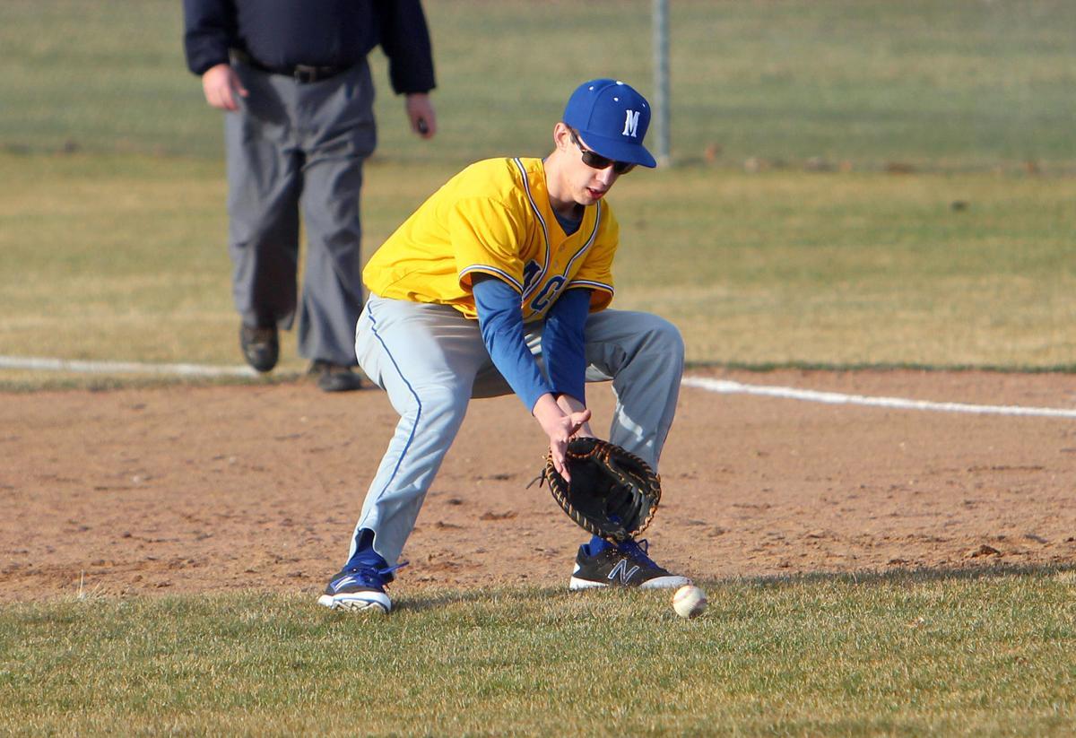 McDonell at Bloomer baseball 4-4-17