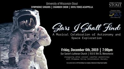 Symphonic Singers concert Dec. 6 to explore space