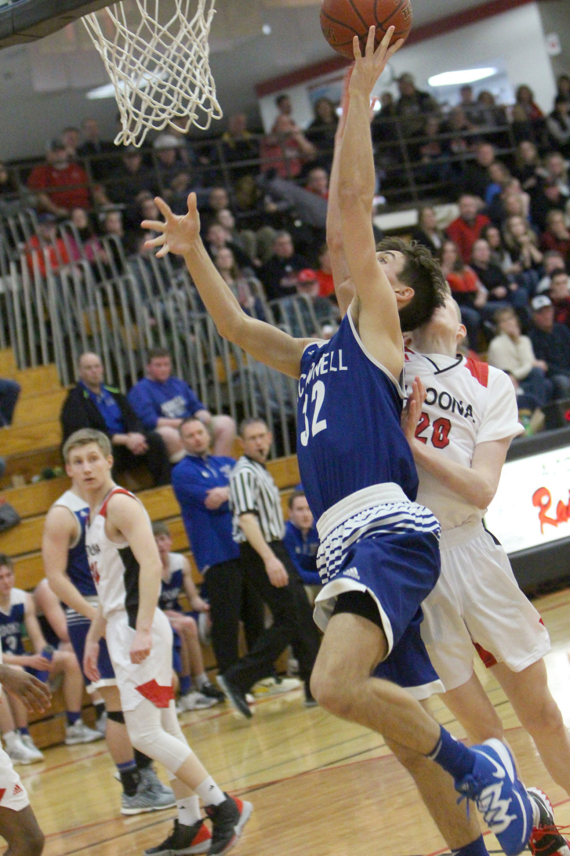McDonell boys basketball at Altoona 2-13-20