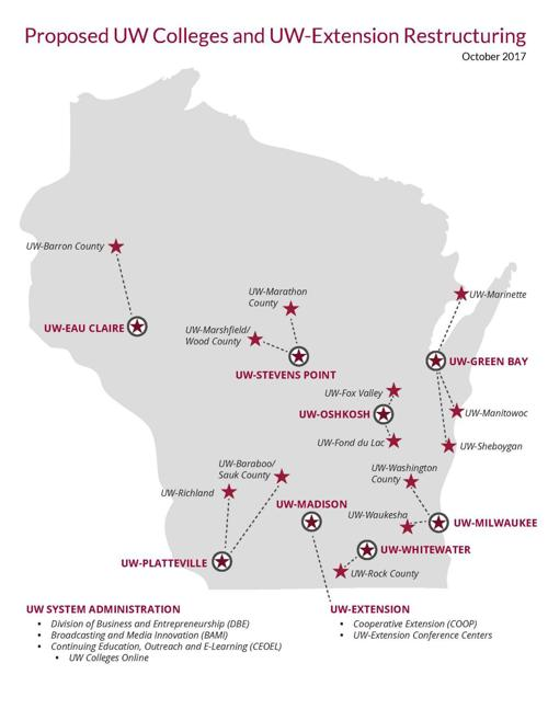 Uw Officials Merger Won T Be Complete Until 2019 State Chippewa Com