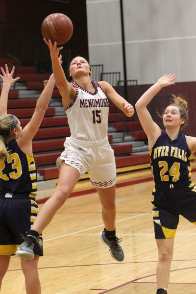 River Falls at Menomonie girls basketball 2-23-19