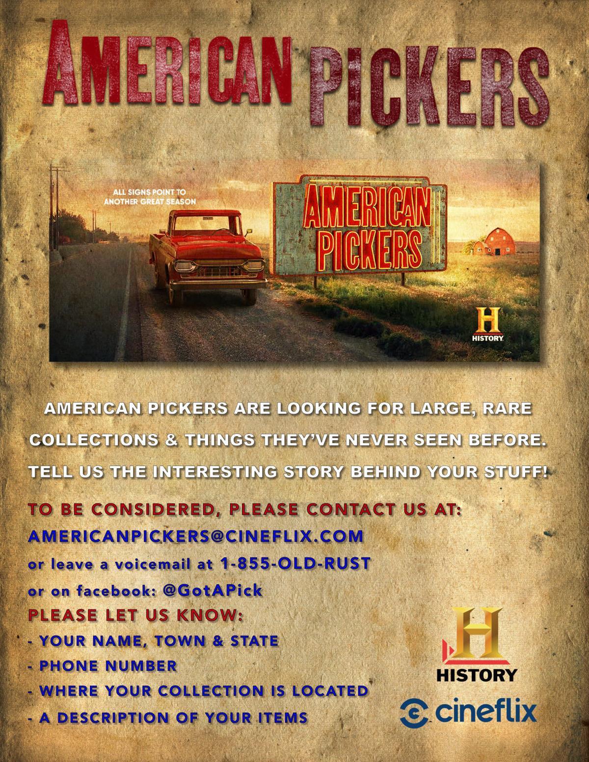 American Pickers Flyer