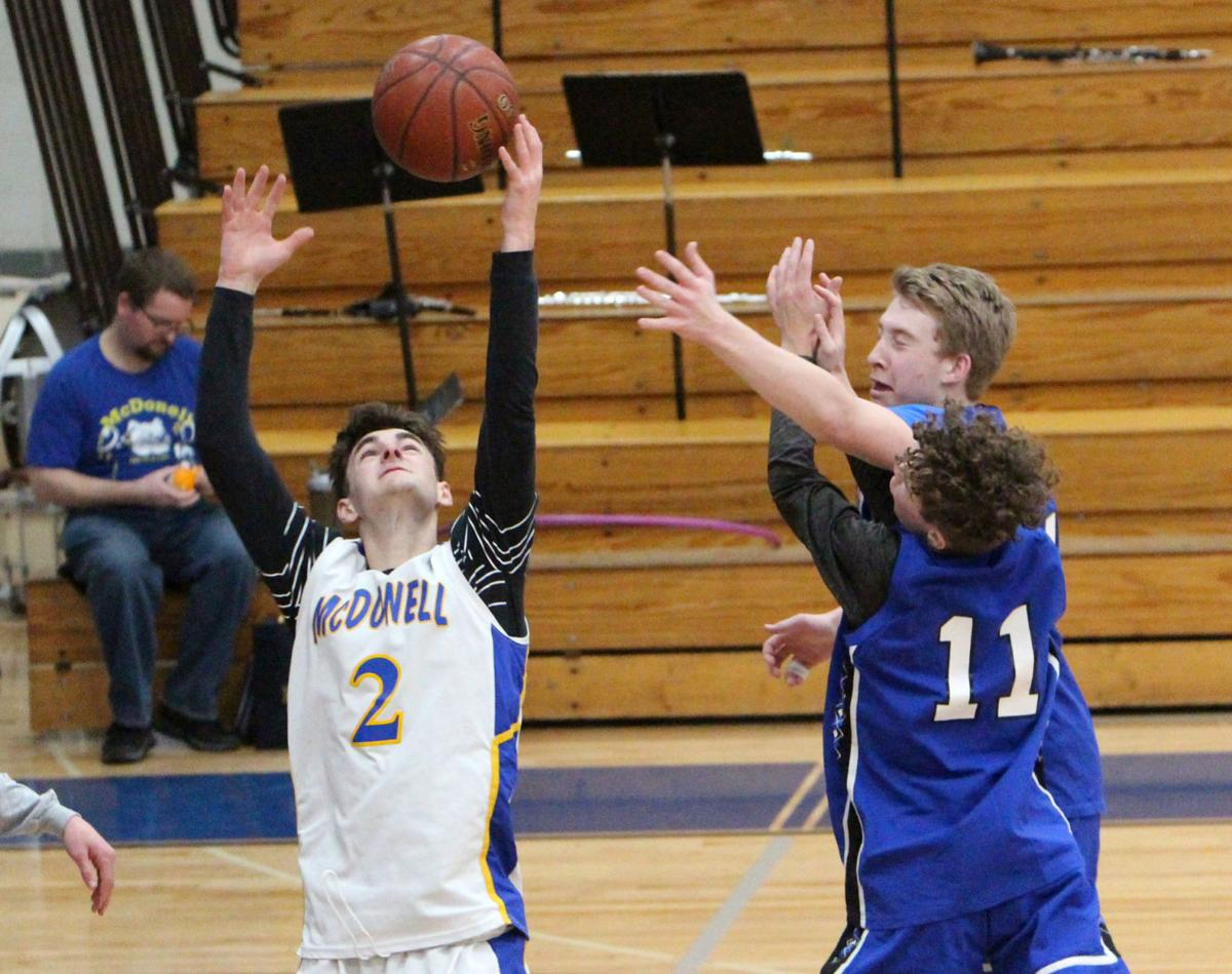 McDonell boys basketball scrimmage 3-13-20