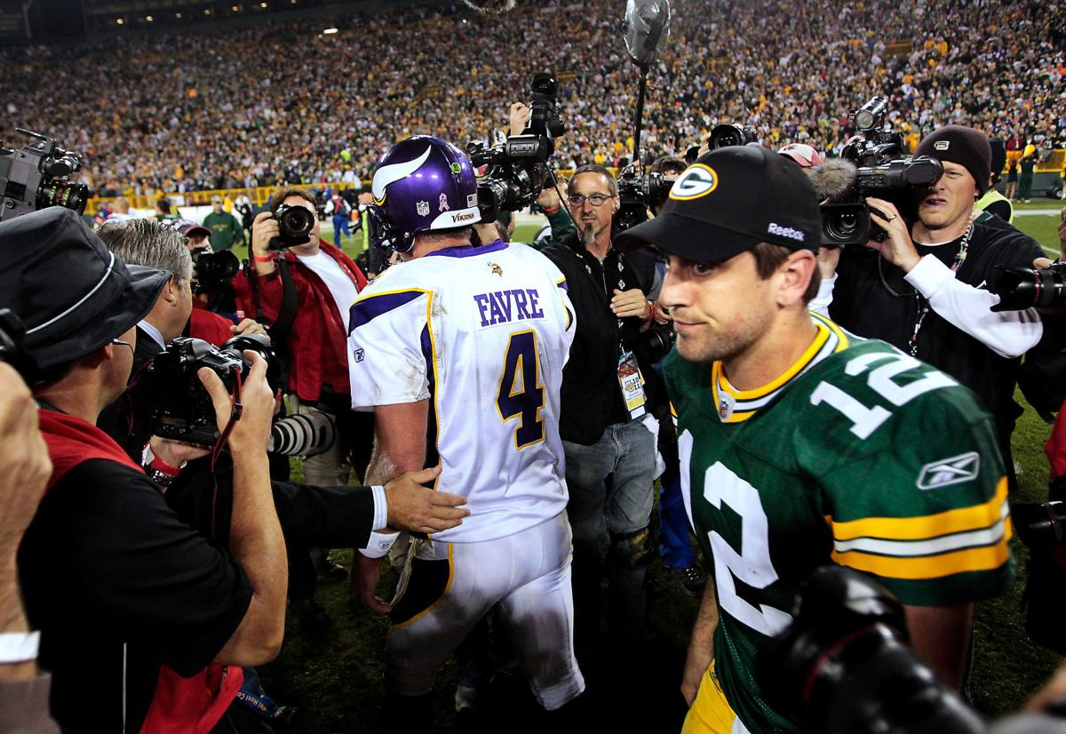 2010-10-24: After beating Brett Favre and the Vikings