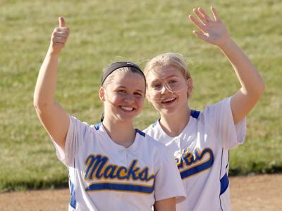 McDonell softball seniors