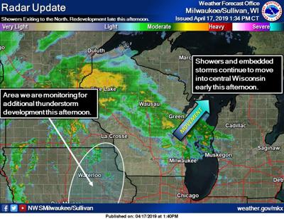 Heavy thunderstorms pounding northern Wisconsin, flooding