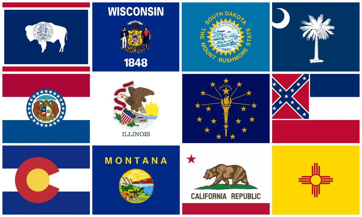 From First To Worst Ranking Every Us State S Flag National Chippewa Com