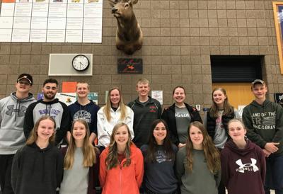 2019 Elk Mound Boys Golf Team