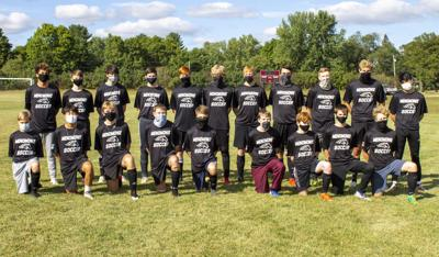 2020 Menomonie Boys Soccer Team
