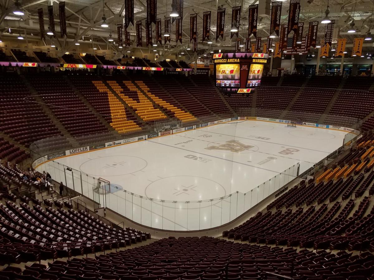 Mariucci Arena Saturday