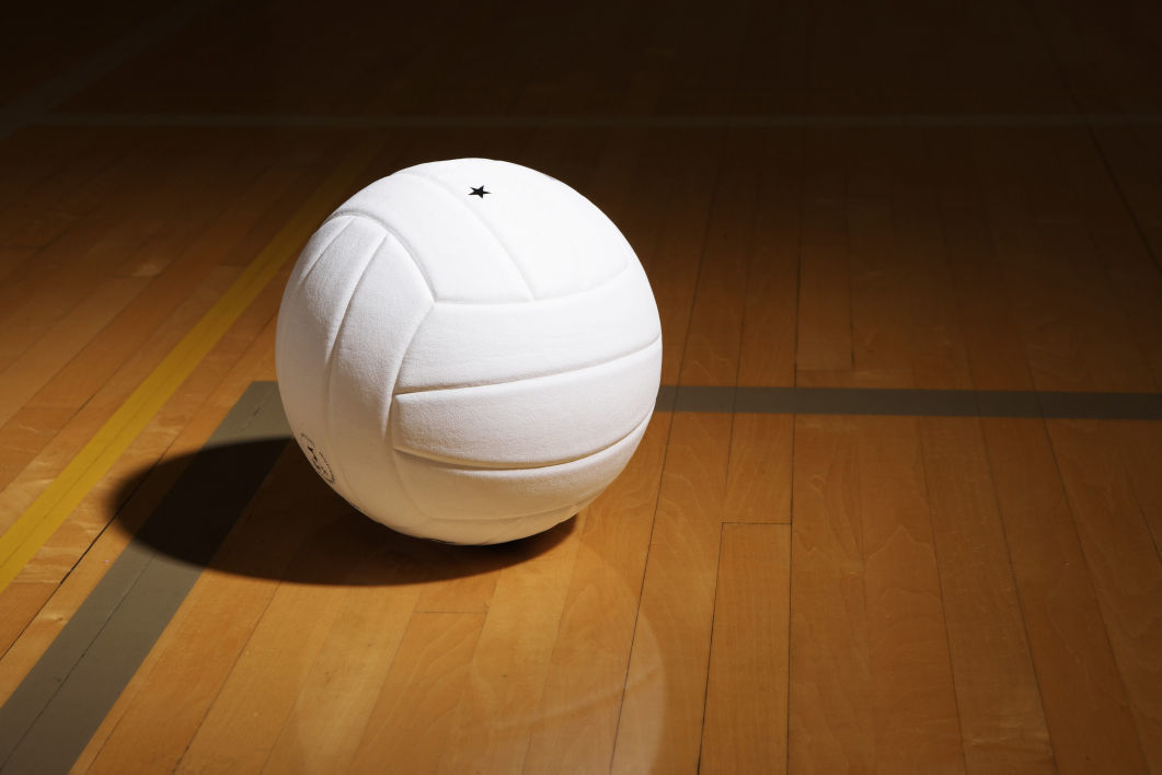 Chippewa Herald Volleyball Stock Photo