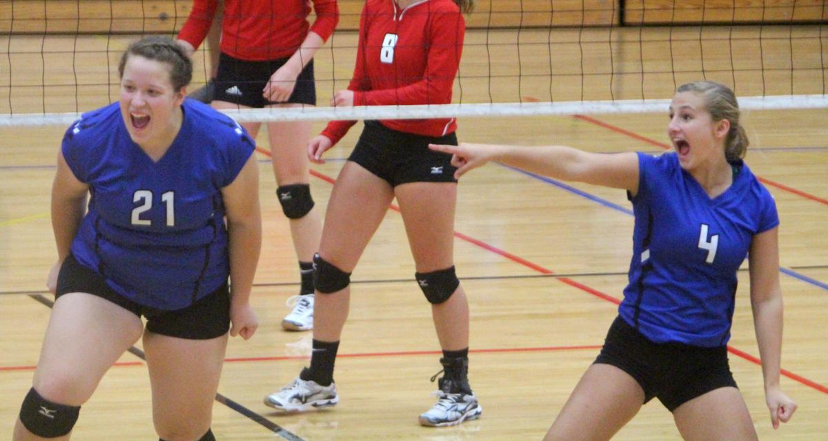 Debbie Roesler Memorial Invitational volleyball at McDonell 9-9-17