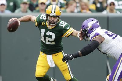 Aaron Rodgers - Packers vs. Vikings