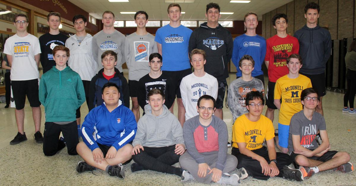 2019 McDonell Boys Track and Field Team