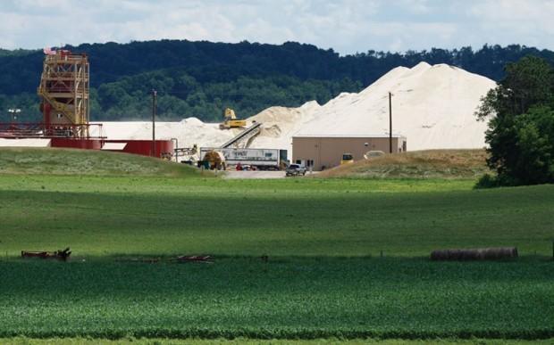 New Auburn sand mine