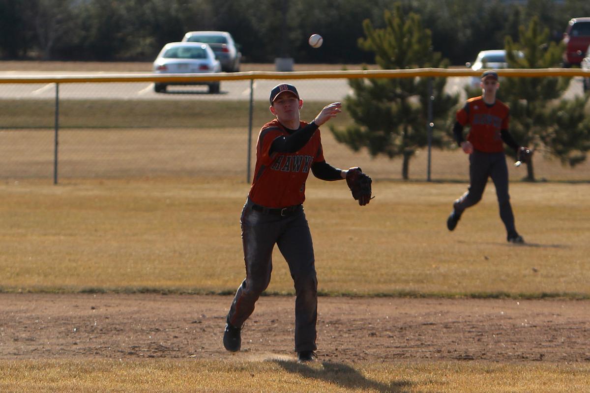 Colfax at Bloomer baseball 4-9-19