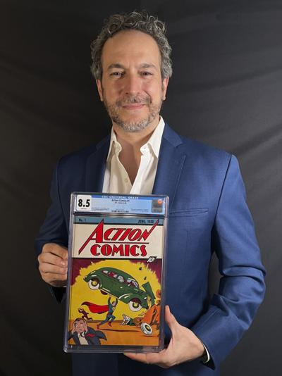 Comic Book-Record Sale