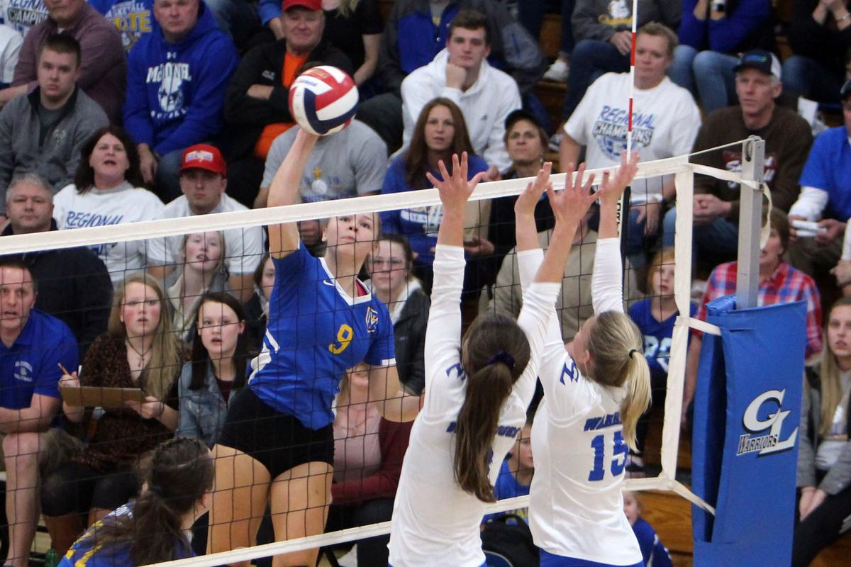 McDonell volleyball at Clear Lake 10-31-19