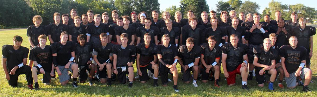 2019 Bloomer Football Team