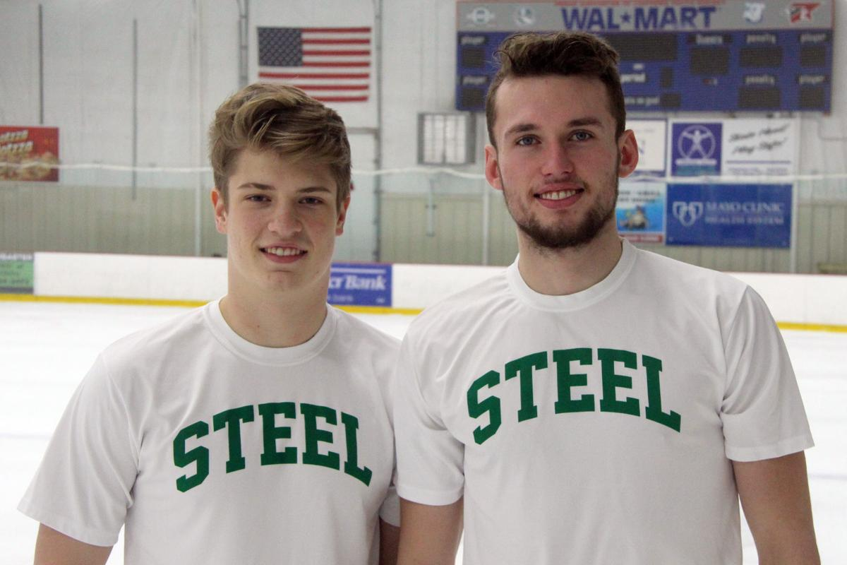 Chippewa Steel's Tomas Vochozka and Filip Dusek