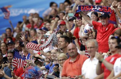 U.S. soccer fans photo
