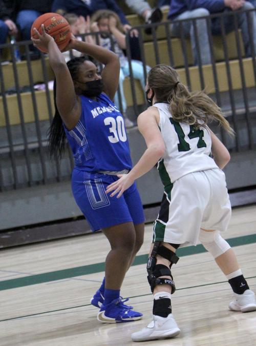 McDonell girls basketball at Northwood 2-18-21