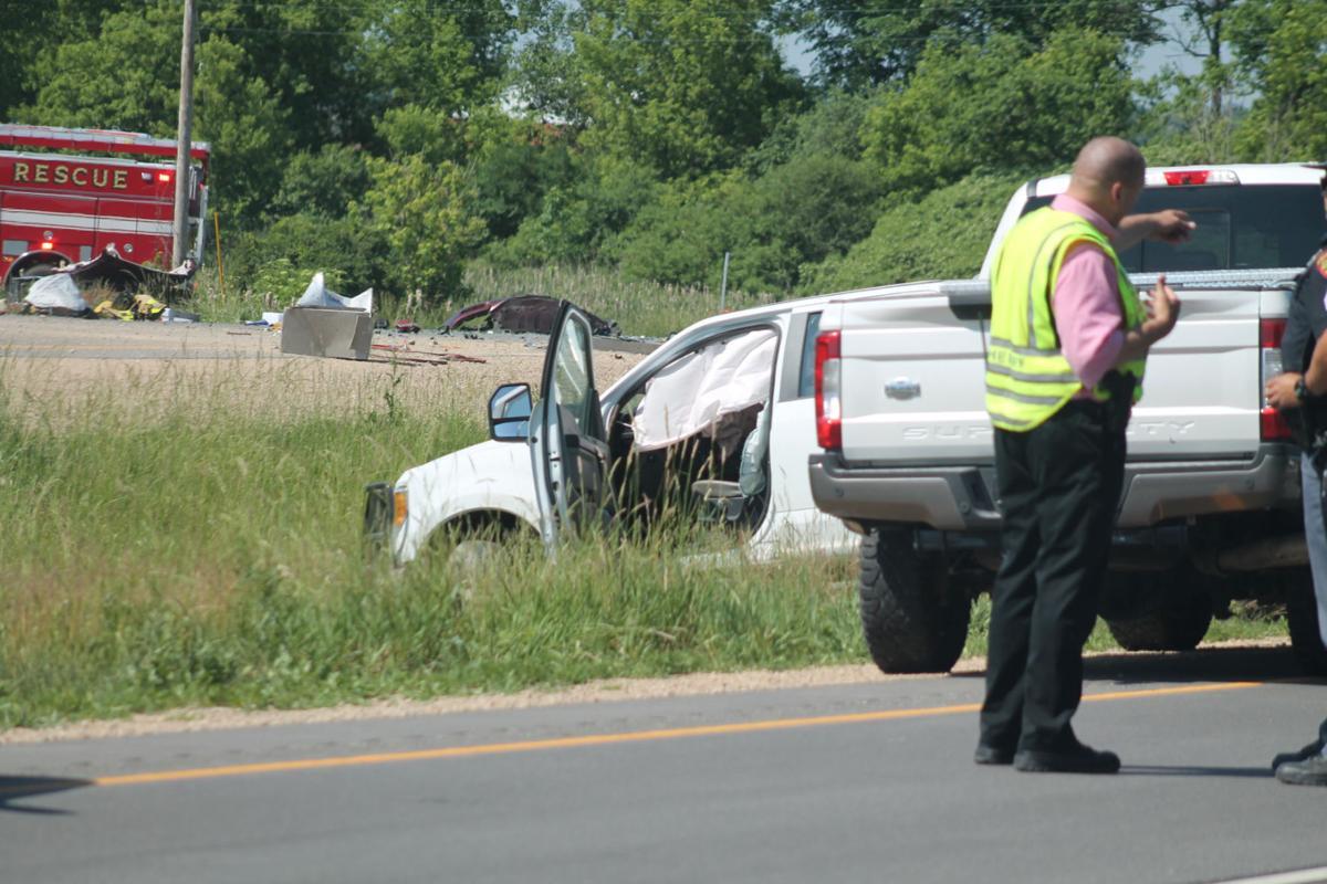 Highway 151 accident outside Beaver Dam