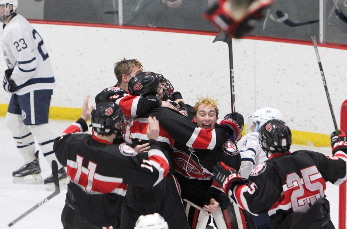 Chi-Hi boys hockey vs Hudson in Wisconsin Rapids 2-29-20