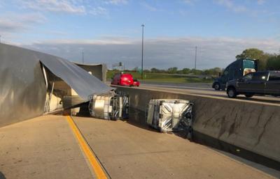 Overturned Truck-Honey Spill