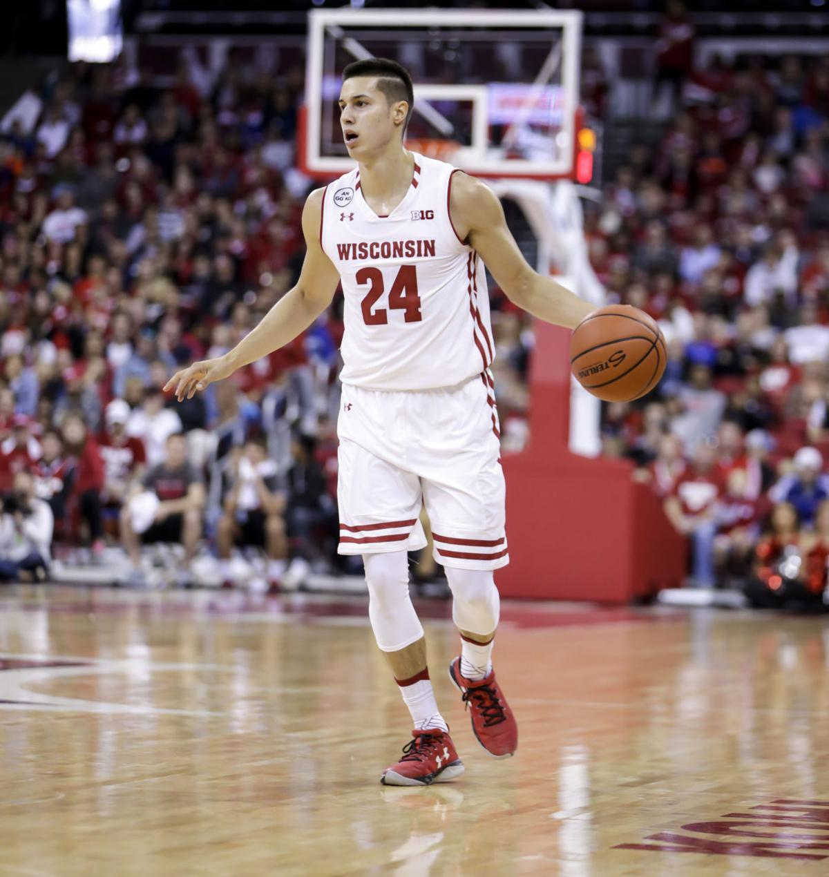 Badgers men's basketball: Wisconsin's Bronson Koenig a changed ...