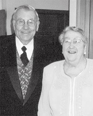 Gordon and Lois Grohn of Elk Mound were married Oct. 5, 1945, at Our Redeemer Lutheran Church, Eau Claire. They celebrated their 60th wedding anniversary with family and friends earlier this summer.