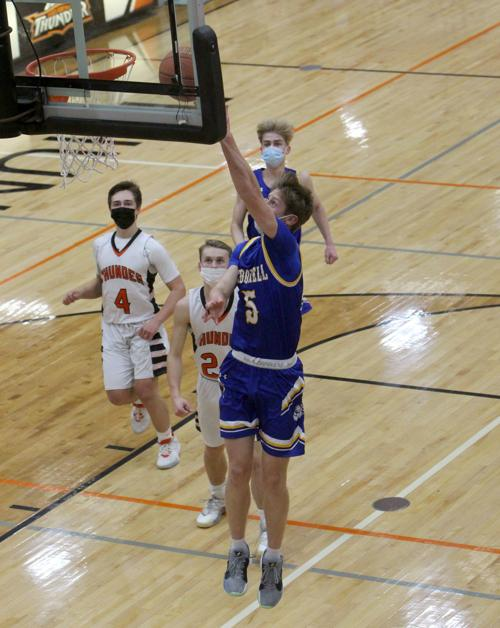 McDonell boys basketball at Osseo-Fairchild 1-11-21
