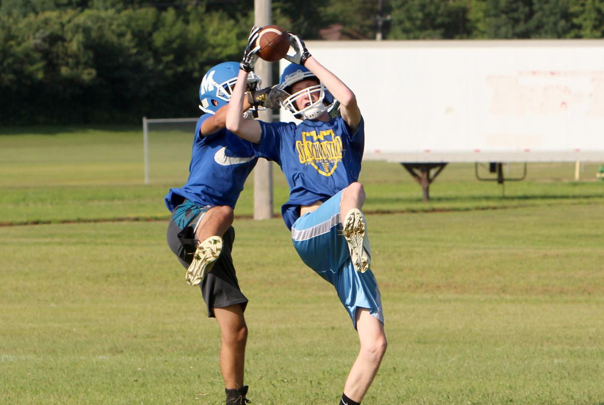 McDonell football practice 8-7-19