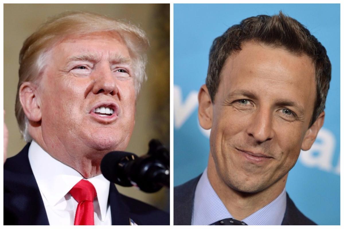 Trump, Meyers