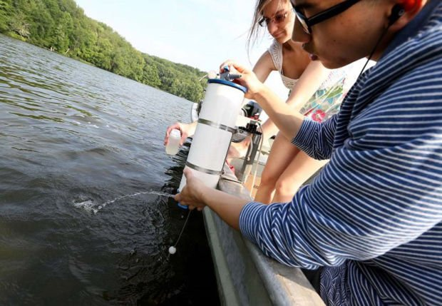 Lake data collection